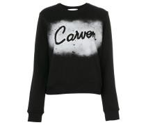 Sweatshirt mit Spray-Print