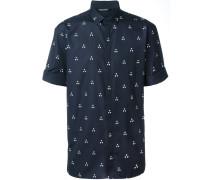 Hemd mit Dreiecks-Print