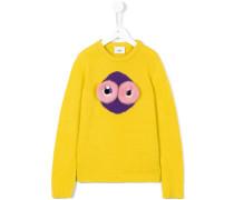Pullover mit Nerzbesatz