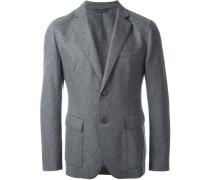 melange fitted blazer