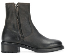 zipped chelsea boots