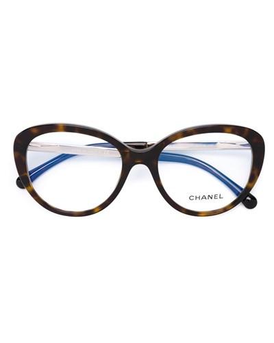 chanel damen 39 3329 39 brille in schildpatt optik reduziert. Black Bedroom Furniture Sets. Home Design Ideas