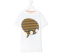 face print T-shirt - kids - Baumwolle - 8 J.