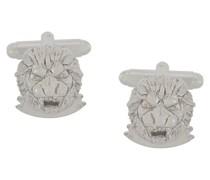 Manschettenknöpfe im Löwendesign