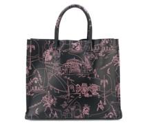 Große 'Scorci Fiorentini' Handtasche