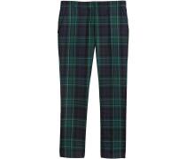 tartan tailored trousers