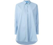 Oversized-Hemd aus Baumwolle