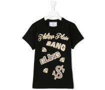 - T-Shirt mit verziertem Print - kids