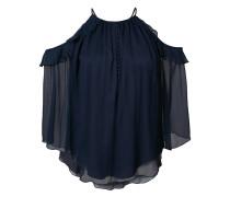 - Schulterfreie Bluse - women - Seide/Polyester