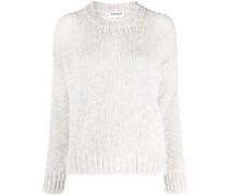 chunky-knit wool-blend jumper