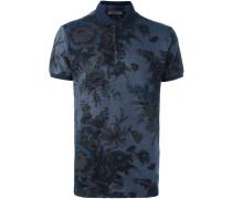 Poloshirt mit floralem Print