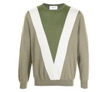 Pullover mit V-Intarsie