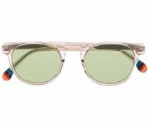 Runde Darwin Crystal Sonnenbrille