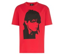 T-Shirt mit Gesicht-Print