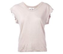 Klassisches Leinen-T-Shirt - women