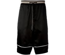 Shorts mit gestreiftem Bund - men