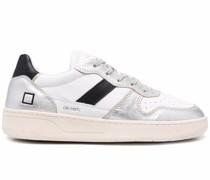 D.A.T.E. colour block lace-up sneakers