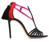 Stiletto-Sandalen mit Quaste