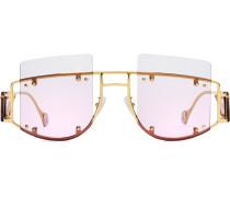 'Antisocial' Oversized-Sonnenbrille