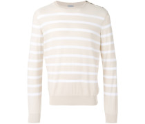 Gestreiftes Sweatshirt - men - Baumwolle - 54