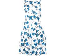 flared floral print dress