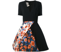 Kleid mit floralem Rock - women