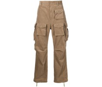 FA straight-leg cargo trousers
