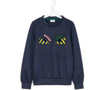 teen appliqué sweatshirt