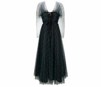 Kleid mit Mesh