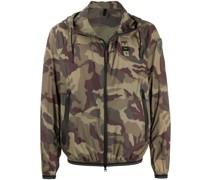 Leichte Jacke mit Camouflagemuster