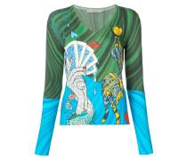 'Bowles' Langarmshirt mit Print