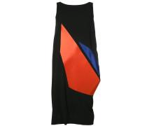 Ärmelloses Kleid mit grafischem Print
