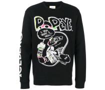 Popeye embroidered sweatshirt