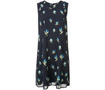 Kleid mit Vogel-Print - women - Polyester - 8