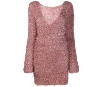 Pulloverkleid mit Textur
