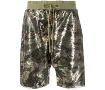 Shorts mit Camouflagemuster