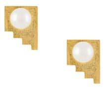 'Making Marks' Ohrringe mit Perlen