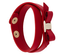 'Vara' Armband in Wickeloptik