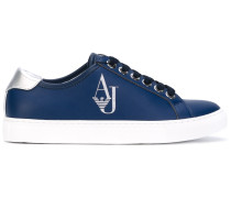 Sneakers mit LogoStempel