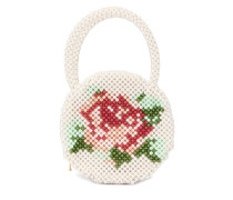 'Rosa' Handtasche mit Perlen