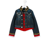 Jeansjacke im Military-Look - kids