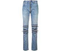 Jeans mit mehreren Reißverschlüssen
