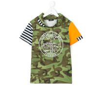 T-Shirt mit Camouflage-Print - kids - Baumwolle