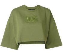 - Cropped-Pullover mit rundem Ausschnitt - women