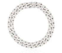 18kt Weißgoldarmband mit Diamanten