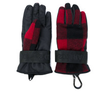 padded checked gloves