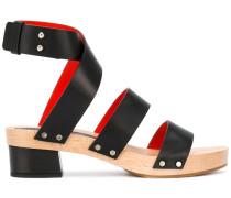 Sandalen mit Holzsohle - women - Leder/Foam