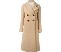 Doppelreihiger Mantel mit langem Schnitt