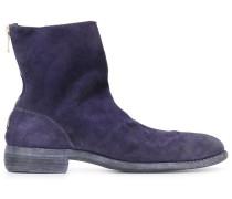 Stiefel im Used-Look mit Reißverschluss