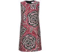 Florales A-Linien-Kleid